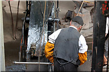 SJ6903 : Hot Iron - driving the steam hammer by Alan Murray-Rust