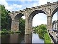 SE3457 : Knaresborough Railway Viaduct by Mike Smith