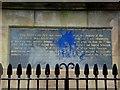C4316 : George Walker Plaque, Derry / Londonderry by Kenneth  Allen