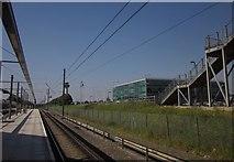 TL5523 : Stansted Airport station by Derek Harper
