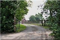 SJ8504 : Driveway to Pendrell Hall, near Codsall Wood by Mick Malpass