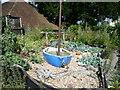 TQ7559 : The Marine Garden, Tyland Barn by Marathon