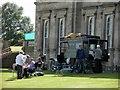 SE3203 : Posh picnic at Wentworth Castle by Steve  Fareham