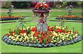 SE3103 : Centre piece of the Victorian Garden at Wentworth Castle by Steve  Fareham