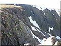 NN9498 : Buttresses and gullies above Garbh Choire Mòr by Peter S