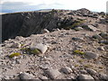NN9599 : View back along the Braeriach summit ridge by Peter S