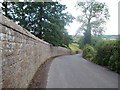 SK2364 : Stanton Hall Perimeter Wall by Jonathan Clitheroe