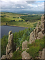 NS7689 : Sauchie Craig, Lewis Hill by Karl and Ali