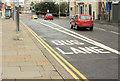 J3474 : Bus lane, Oxford Street, Belfast (1) by Albert Bridge