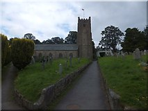 SX7087 : St Michael's church, Chagford by David Smith