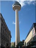 SJ3490 : Radio Tower, Liverpool by Emma White