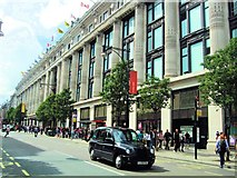 TQ2881 : Oxford Street, London by Paul Gillett