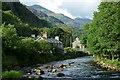 SH5948 : Afon Glaslyn, Beddgelert by Peter Trimming