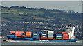 "J4183 : The ""BG Ireland"", Belfast Lough (3) by Albert Bridge"