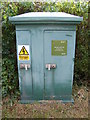 TM3679 : Wissett Water Course Monitoring Station by Adrian Cable