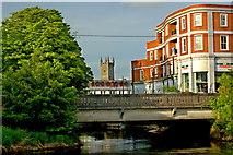R3377 : Ennis - River Fergus Downstream Walk - Bank Place Bridge by Joseph Mischyshyn