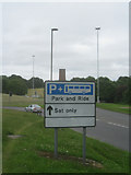 SU9850 : Guildford Park & Ride - Stag Hill by Given Up