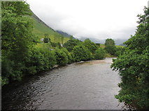 NN1273 : River Nevis, looking south by Gareth James