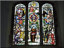 TR1458 : Window in the Roper Chapel of St. Dunstan's Church, Canterbury by pam fray
