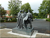 SJ3384 : Mid summer 2012 at Port Sunlight (XXXIII) by Basher Eyre