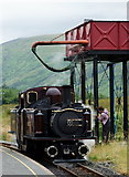 SH5752 : Taking on Water at Rhyd-Ddu by Peter Trimming