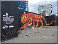 NS5864 : Tiger art, Glasgow by Gareth James