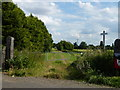 TF5004 : The former route of the Wisbech and Upwell tramway by Richard Humphrey