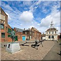 TF6120 : Purfleet Quay, King's Lynn by Dave Hitchborne