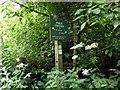 SK1072 : Peak & Northern Footpath Society sign No. 236 by Graham Hogg