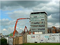 SU1584 : Former Swindon College, Regents Circus, Swindon 08.08.12 by Brian Robert Marshall