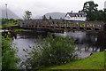 NN1176 : Railway swing bridge, Banavie by Ian Taylor