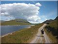 NN4882 : Lochan na H-Earba and Binnein Shios (667m) by Karl and Ali