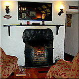 M2208 : The Burren - Ballyvaghan - R477 - Monk's Seafood Pub & Restaurant - Fireplace by Joseph Mischyshyn
