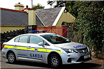 M2208 : The Burren - Ballyvaghan - R477 - Monk's Seafood Pub & Restaurant - Garda Car by Joseph Mischyshyn