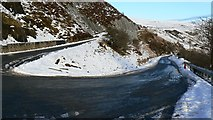 NG3864 : The Uig Hairpin on the A855 by Uilleam Donnachaidh