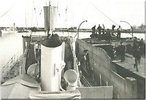 SW4628 : Newlyn Harbour in 1943 by George Baker
