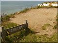 TV5895 : Cliff Edge, Beachy Head by David Dixon