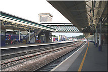 SX9193 : Exeter: St David's station by Dr Neil Clifton