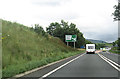 NY6621 : A66 approaching Appleby by pass by John Firth