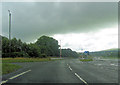 NY8114 : A66 from eastbound exit from Brough by John Firth