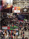 TQ3179 : Waterloo Station During 2012 Olympic Games by Colin Smith