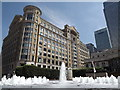 TQ3780 : Cabot Square by Colin Smith