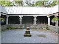 NN1126 : Cloister Garth, St Conan's Kirk, Lochawe by Alan O'Dowd