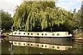 TQ1683 : Narrowboat at Perivale by Richard Croft
