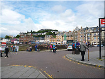 NM8529 : Oban:  view from in front of the station by Dr Neil Clifton