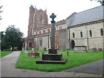 TL7835 : St Nicholas Church, Castle Hedingham Essex by Derek Voller