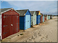 SZ7698 : Beach Huts at West Wittering Beach by David Dixon