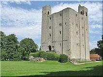 TL7835 : The Keep, Hedingham Castle, Essex by Derek Voller