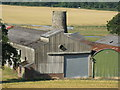 NS9677 : Myrehead farm buildings by M J Richardson
