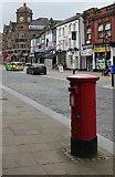 SD7109 : Churchgate postbox (ref. BL1 3)  by Alan Murray-Rust